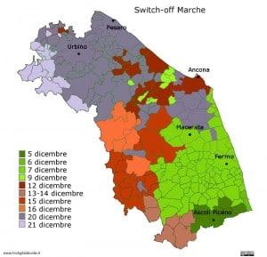 mappa switch-off marche