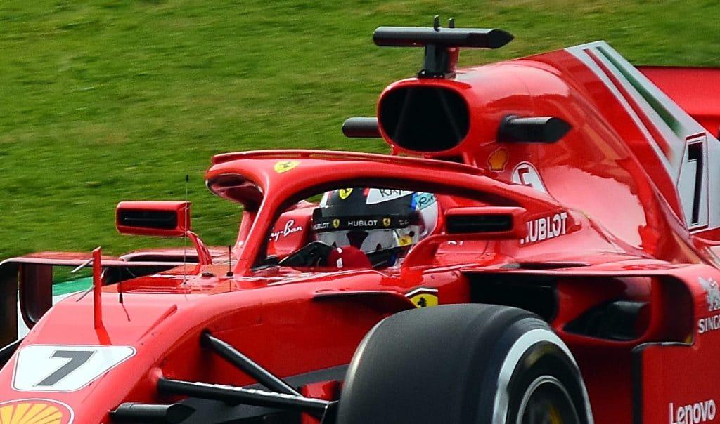 Räikkönen_Ferrari_SF71H_Testing_Barcelona