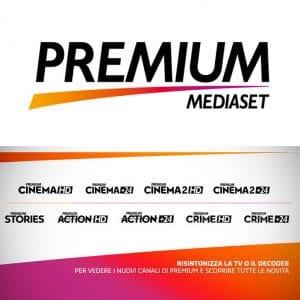 Come ritrovare i canali HD di Mediaset Premium?