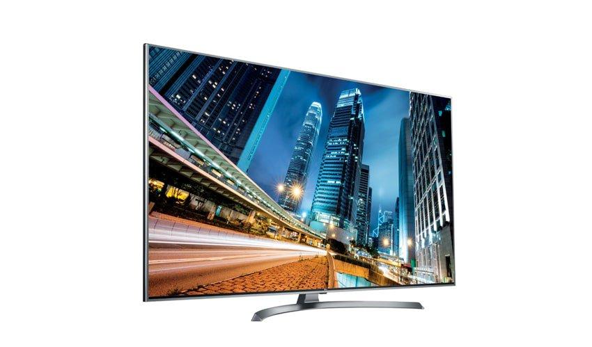 tv 4k LG UJ750V