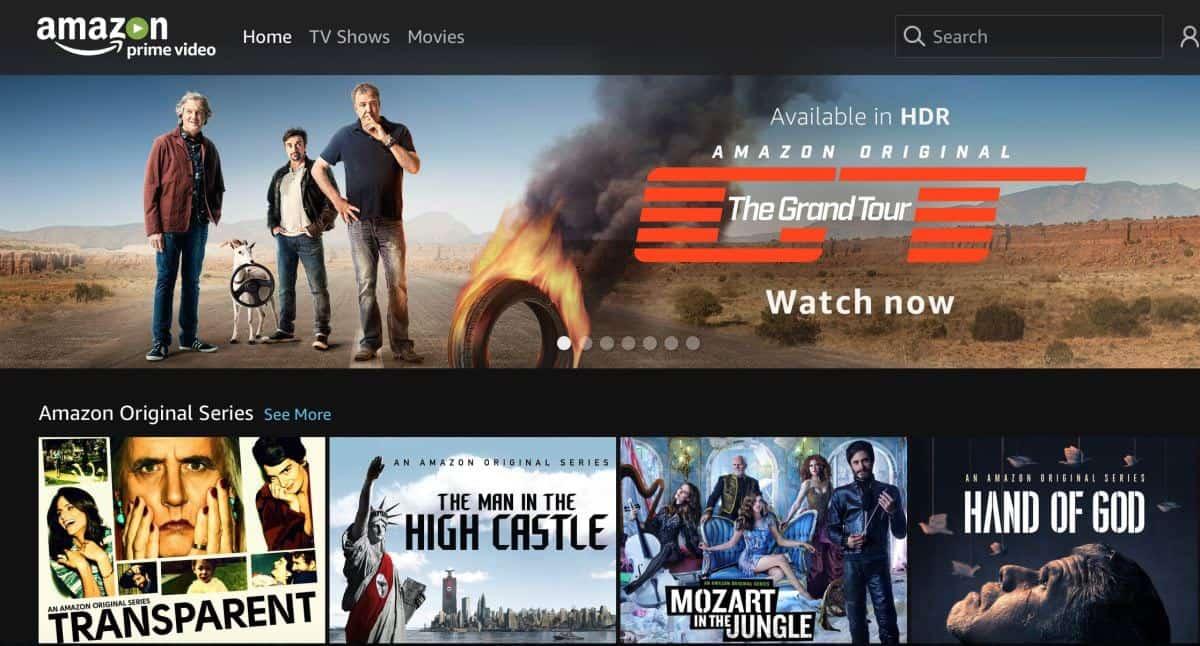 amazon prime video serie tv