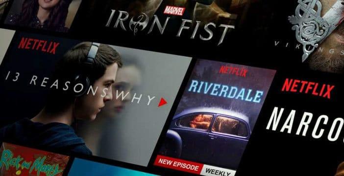 richiedere film serie tv netflix