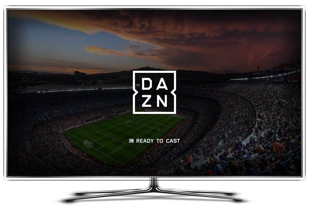 app su smart tv samsung dazn