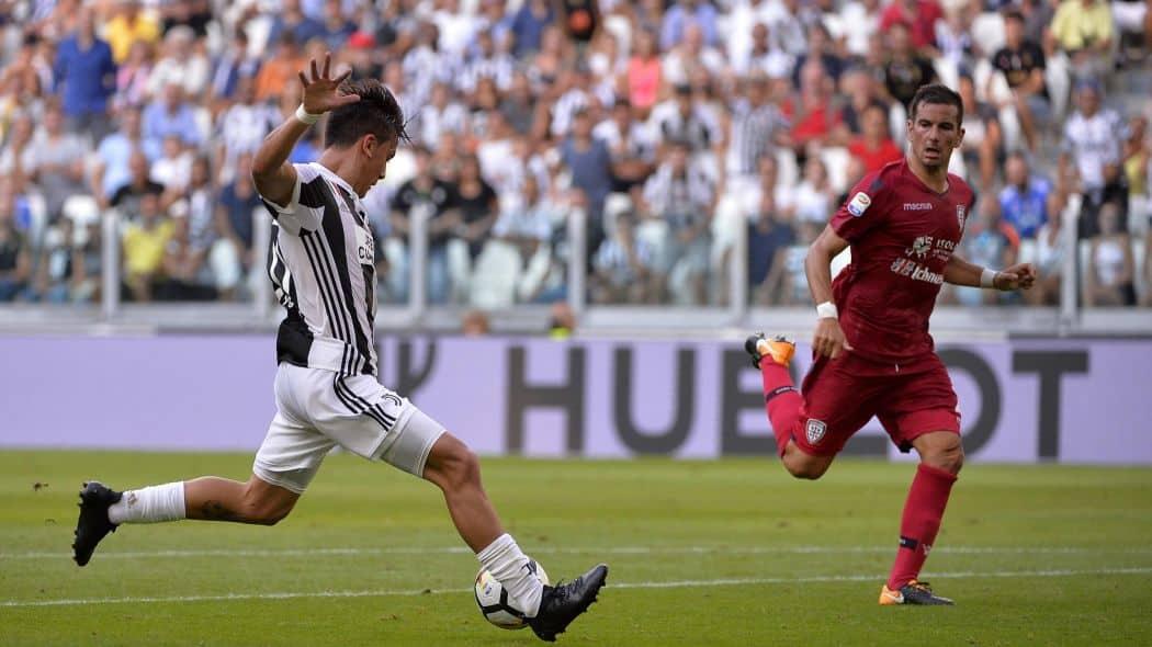 Juventus Cagliari in streaming