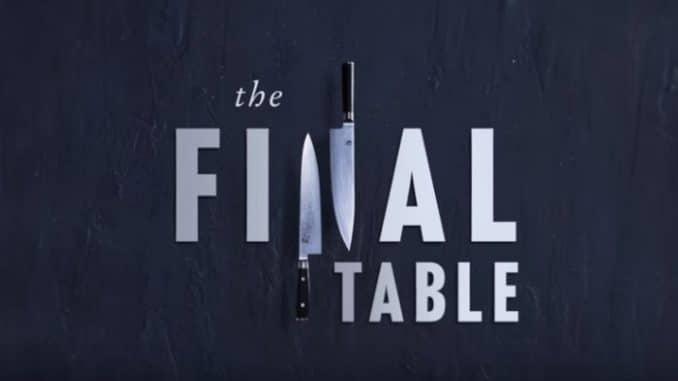 The Final Table netflix serie tv novembre