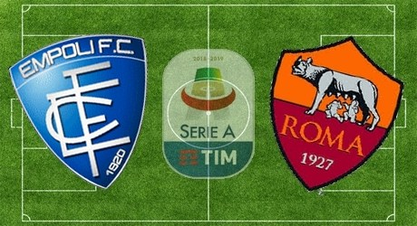 empoli roma dove vederla tv streaming