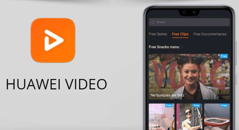hauwei video streaming on demand app