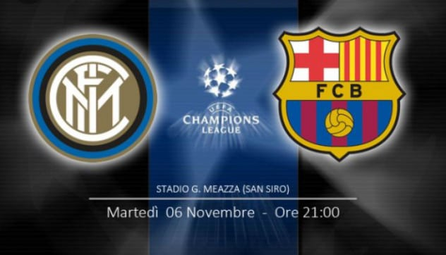 inter barcellona in tv streaming