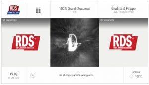 Come vedere il nuovo canale interattivo RDS Social TV HD?