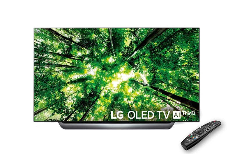 LG OLED AI ThinQ 55C8 black friday 2018