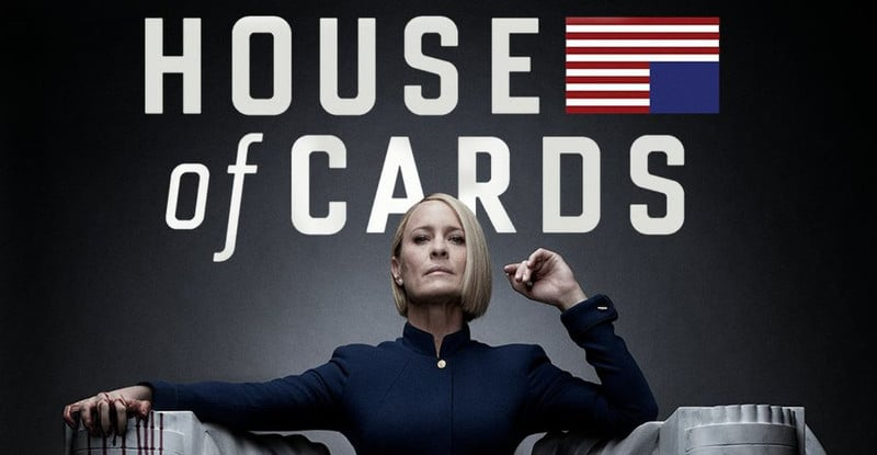 house- of cards 6 in streaming netflix sky
