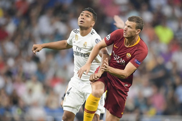 Roma Real Madrid  in tv Uefa Champions League 2018 2019