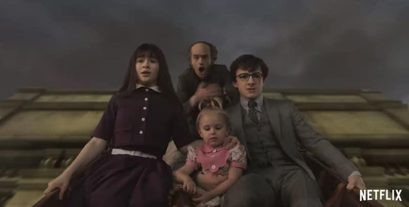 Netflix serie tv gennaio 2019 Una serie di sfortunati eventi streaming