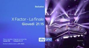 X Factor 12 dove vedere finale in tv in streaming