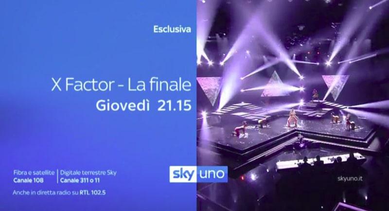 Finale X Factor 12 dove vederla in tv in streaming