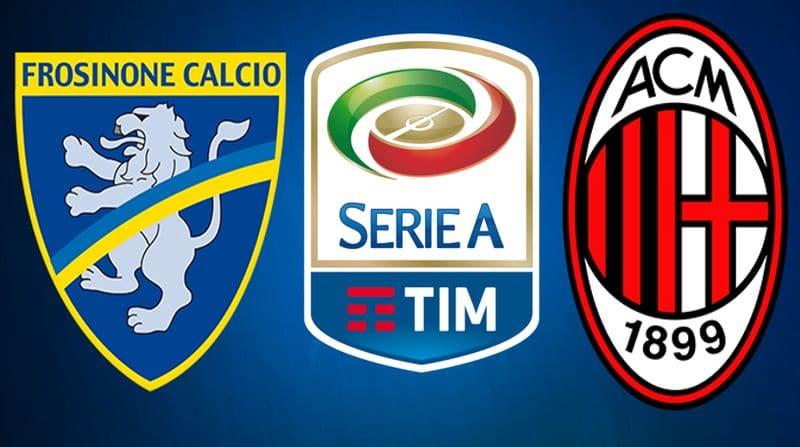 Frosinone Milan streaming Dazn