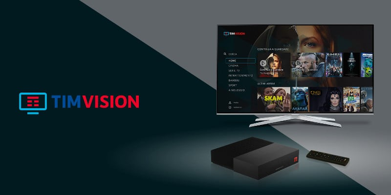 timvision tv on demand