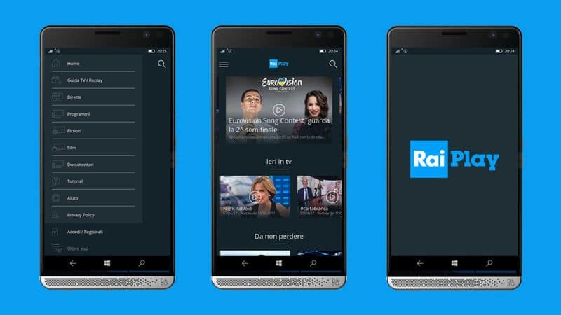 RaiPlay tv streaming rai