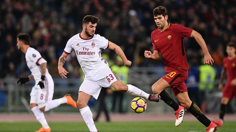 Roma Milan in tv