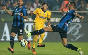 Atalanta Juventus in streaming