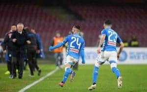 Napoli Zurigo in streaming