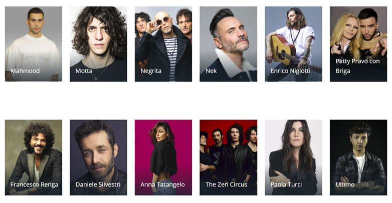 Sanremo 2019 scaletta cantanti finale ospiti