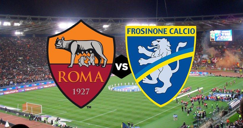 come vedere Roma Frosinone in tv e in streaming