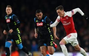 napoli arsenal in tv e streaming