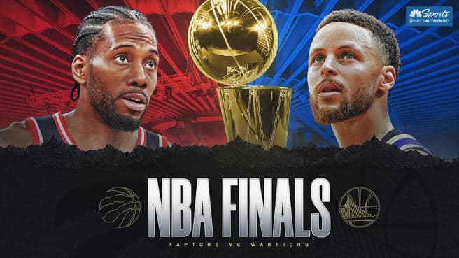 finale nba 2019 Raptors Warriorsin streaming in tv