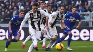 Dove guardare Sampdoria Juventus in streaming e in TV