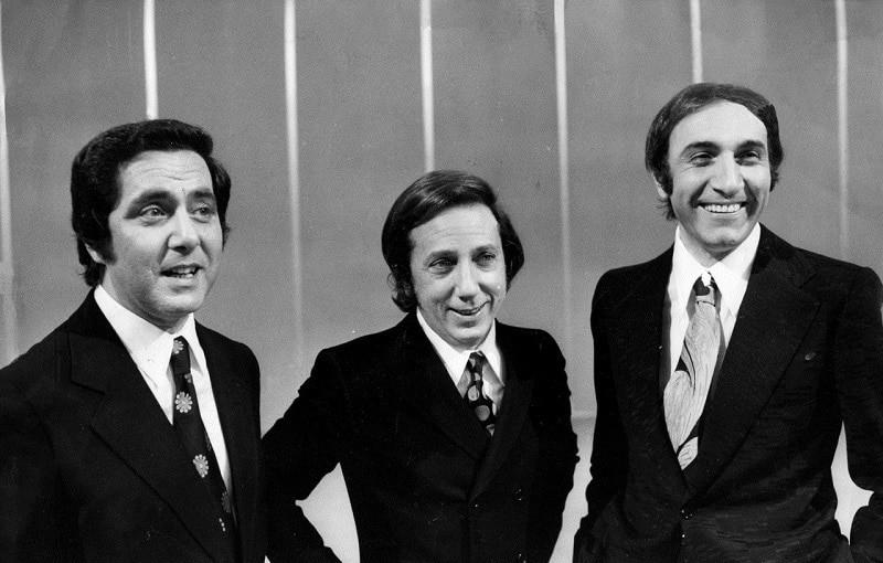 la corrida di Corrado, Mike Bongiorno, Pippo Baudo