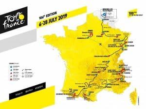Come vedere il Tour de France 2019 in TV e streaming | inizio | percorso