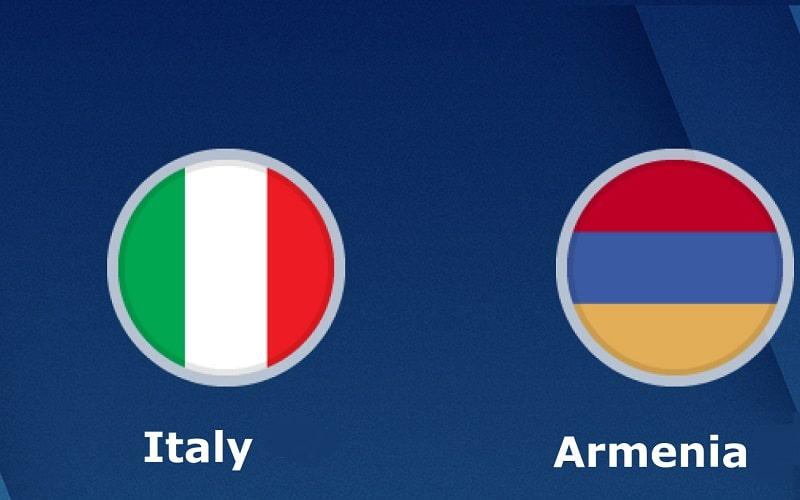 Armenia Italia dove vederla in TV - Qualificazioni Europei 2020