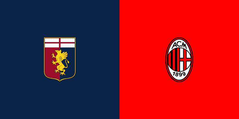dove vedere genoa milan in streaming e in tv
